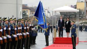 NATO Genel Sekreteri Stoltenberg Kosova'da
