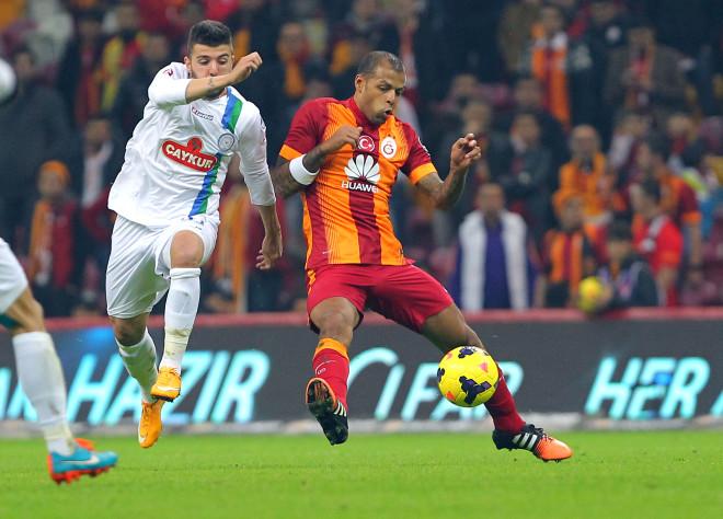 Galatasaray: 2 - Çaykur Rizespor: 0