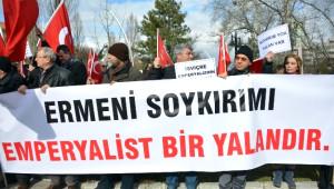 Başkent'te Perinçek Davası Protesto Edildi