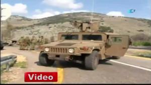 Hizbullah'tan İsrail Askeri Araçlarına Füzeli Saldırı