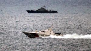Kardak'ta, Yunan Savunma Bakanı'nın Çelenk Krizi
