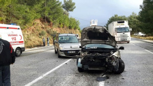 Muğla'da Kaza: 6 Yaralı