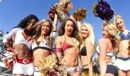 Super Bowl Kızlarının Kamera Arkası Görüntüleri Nefes Kesti