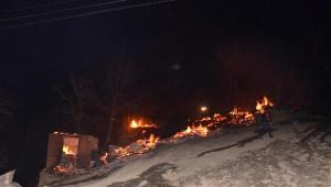 Samsun'da Ormanlık Alanda Yangın: 7 Ev Kullanılamaz Hale Geldi