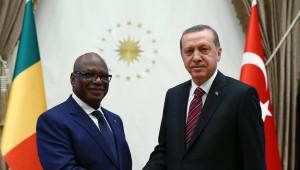 Mali Cumhurbaşkanı, Edoğan ile Görüştü