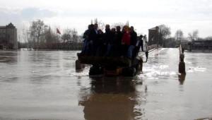 Edirne'de Taşkının Üçüncü Günü; Nehirlerde Debi Düşüyor (3)
