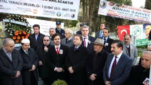Adnan Kahveci Ölümünün 22. Yılında Kartal'daki Mezarı Başında Anıldı