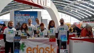 Edosk Edirne'nin ve Trakya'nın Bisiklet ve Doğa Yürüyüşü Rotalarını Amsterdam'da Tanıttı