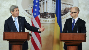 Kerry: Abd, Donbass'taki Barış Sürecinde Garantör Olmaya Hazır