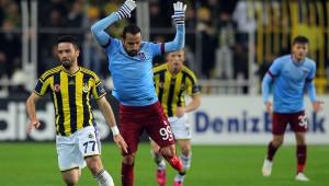 Fenerbahçe: 0 - Trabzonspor: 0 (İlk Yarı)