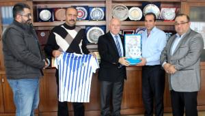 Erzurumsporlu Yöneticilerden Başkan Sekmen'e Teşekkür