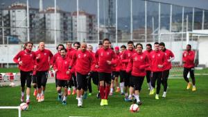 Samsunspor, Alanyaspor Maçı Hazırlıklarını Tamamladı