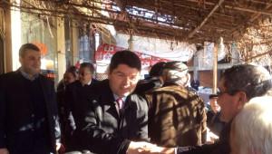Milletvekili Tunç, Ulus İlçesinde Ziyaretlerde Bulundu