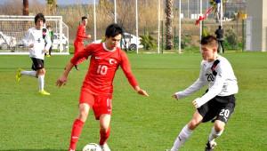 Türkiye U-15 Milli Takımı, Avusturya ile 1-1 Berabere Kaldı