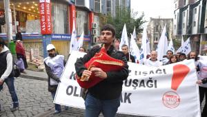 Ankara'ya Yürüyen TMMOB Karadeniz Grubu Rize'ye Ulaştı (2)