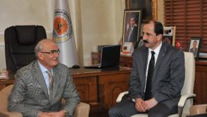 AK Parti Samsun İl Yönetimi, Vali ve Başkanı Ziyaret Etti