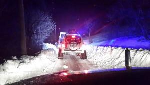 Geyve'de Rahatsızlanan Hamileye Paletli Ambulans