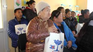 Tsagaan Sar (Beyaz Ay) Bayramı Öncesi Fakirlere Yardım Eli Uzatıldı