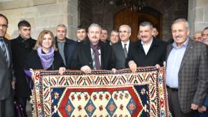AK Parti Genel Başkan Yardımcısı Şentop, Tarihi Mekanları Gezdi