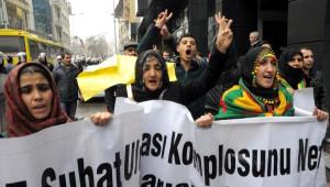 Gaziantep'te Dbp'lilerden Öcalan Protestosu