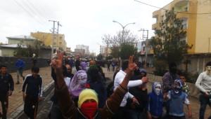 İdil'de 15 Şubat Yürüyüşü