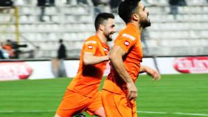 Adanaspor: 3 Gaziantep Büyükşehir Belediyespor: 2