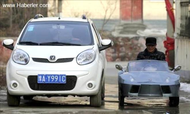 Torunu İçin Lamborghini Yaptı