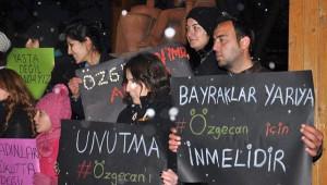 Avanos'ta 'Özgecan' Eylemine Turistler de Katıldı