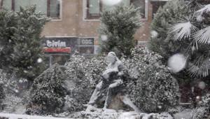Şile'de Yoğun Kar