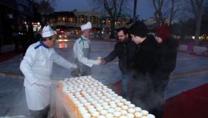 Eyüp Sultan'da Pazar Çorbasına İlgi Büyüyor