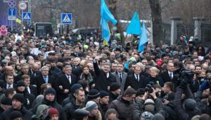 Kiev'deki 'Onur Yürüyüşü'ne AB Liderleri Katıldı