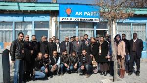 Mustafa Kaçmaz'a Büyük İlgi