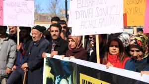 Vahşice Öldürülen Büşra İçin Kadınlar Eylem Yaptı