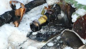 Malatya'da Düşen Uçakların Enkazı 1 KM'lik Alana Yayıldı