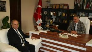 Aday Adayı İsen'den Başkan Dişli'ye Ziyaret