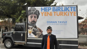 AK Parti Milletvekili Aday Adayından Börklü Afiş