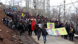 Beytüşşebap'ta Ypg'linin Cenazesi Sonrası Çıkan Olaylarda 2 Polis Yaralandı
