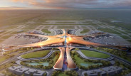 Pekin'in Yeni Havaalanı Dev Uzay Üssüne Benziyor