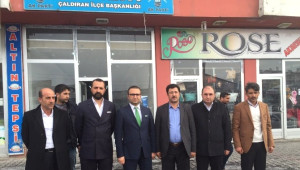 AK Parti Van Milletvekili Aday Adayı Ahmet Fidan'dan Çaldıran ve Özalp'a Ziyaret