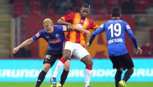 Galatasaray: 1 - Kayseri Erciyesspor: 1 (İlk Yarı)
