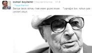 Ünlü İsimler Yaşar Kemal'i Twitter'da Uğurladı