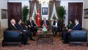 Akdoğan ile Hdp Heyetinin