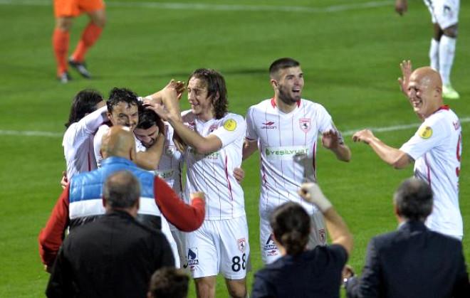 Adanaspor - Samsunspor Maçı Ek Fotoğrafları