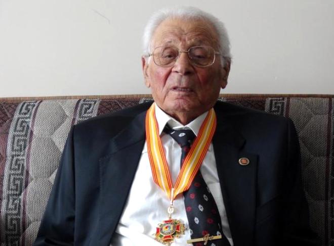 Kore Gazisi Aşkın, 88'inci Yaşını Kutladı