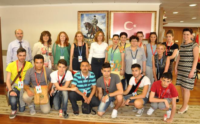 Nazilli Özel Fatih Sultan Lisesi Heyeti İtalya'dan Döndü