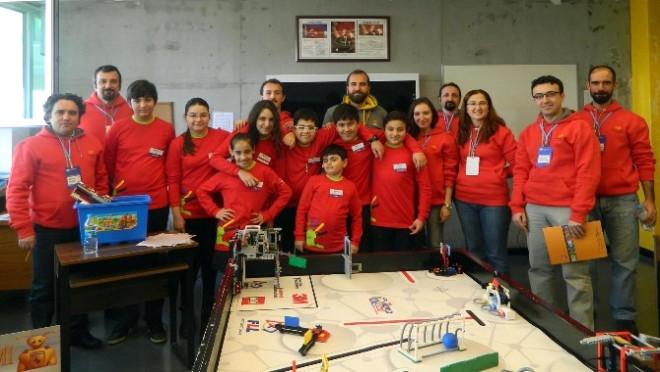 Özel Sanko Ortaokulu Fırst Lego Ligi Bölge Şampiyonu