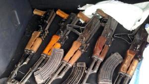 Şanlıurfa'da Silah Operasyonu