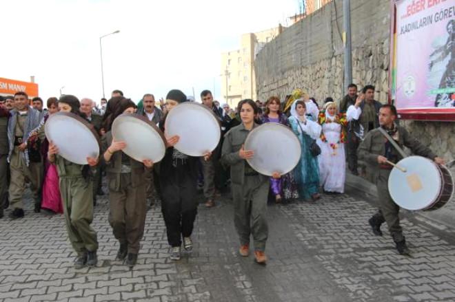 Şırnak'ta 'Kıyafetime Dokunma' Yürüyüşü