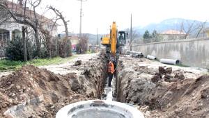 Kuzuluk Kanalizasyon Hattının 21 Kilometresi Tamam