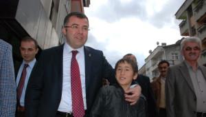 AK Parti İl Başkanı Hikmet Keskin Yığılca'ya Çıkarma Yaptı